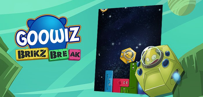 "The Goowiz face their deadly enemies ""the Brikz"" in a puzzle game where the laws of gravity are your best ally!"