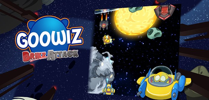 The Brikz, Goowiz's sworn enemies, are back in this arcade game where you have to be skillful!