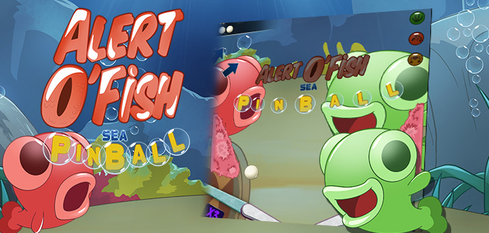 The Fish will take you on a cool adventure with this pinball game!
