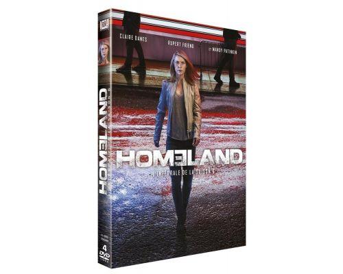 Un DVD HOMELAND - SAISON 6  COFFRET 4 DVD