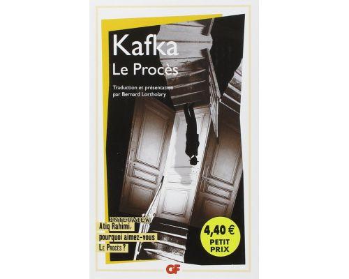 Un livre Le procès de Franz Kafka