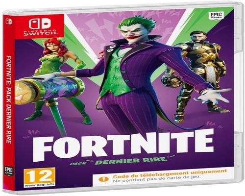 un Jeu Nintendo Switch Fortnite : Pack Dernier Rire (Nintendo Switch)