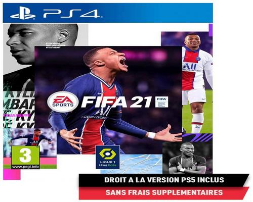 un Jeu Fifa 21 (Ps4) - Version Ps5 Incluse