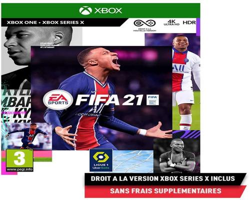 un Jeu Xbox One Fifa 21 (Xbox One) - Version Xbox Series X Incluse