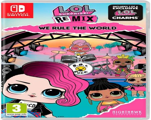 un Jeu Nintendo Switch L.O.L. Surprise! Remix Edition: We Rule The World (Nintendo Switch)