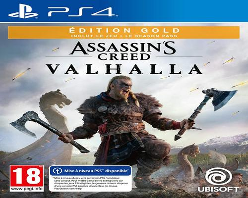 un Jeu Assassin'S Creed Valhalla - Gold Edition - Version Ps5 Incluse