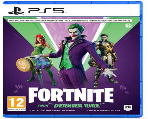 un Jeu Fortnite : Pack Dernier Rire (Ps5) - Code In Box