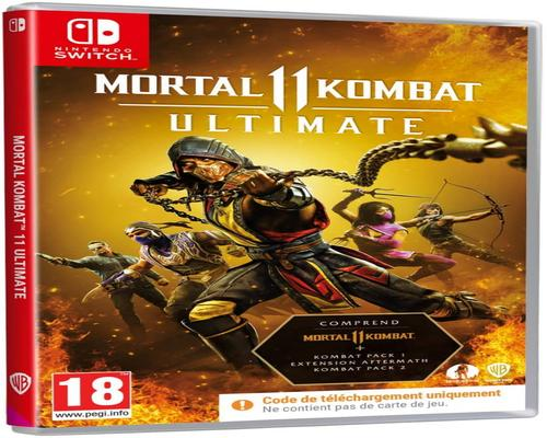 un Jeu Nintendo Switch Mortal Kombat 11 Ultimate Code In Box (Nintendo Switch)