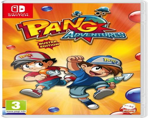 un Jeu Pang Adventures: Buster Edition (Nintendo Switch)