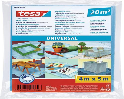 un Autocollant Tesa 56651-00002-01 Bâche De Protection Universelle 20M² 4M X 5000Mm