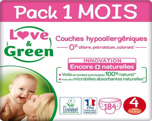 une Couche Love & Green Taille 4