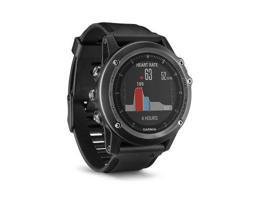 une montre GPS Multisports OutdoorGarmin  Fenix 3 Sapphire Gray Hr