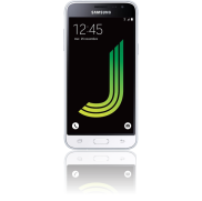 un smartphone Galaxy J3 Blanc