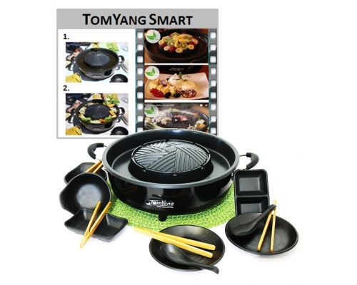 Un Barbecue Electrique pour Cuisine Thai et HotPot