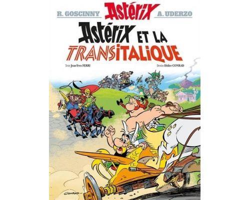Une BD Asterix - Asterix et la Transitalique - n°37