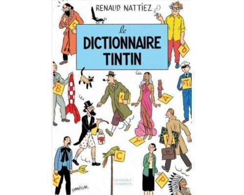 Une BD Le dictionnaire Tintin