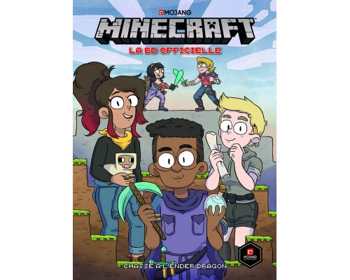 Une BD Minecraft la BD officielle