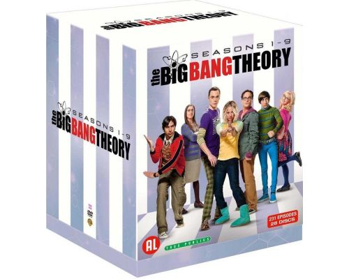 Un Coffret DVD Big Bang Theory L'integrale Saisons 1-9