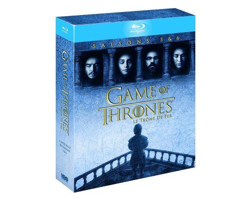 Les saisons 5 et 6 de GAME OF THRONES  en Blu ray