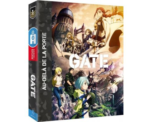 La saison 1 de Gate en blu-ray Edition Collecto