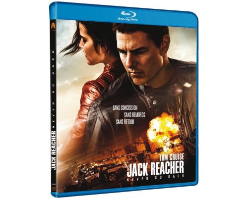 Un Blu-Ray Jack Reacher: Never Go Back