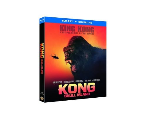 Kong : Skull Island [Blu-ray + Copie digitale]