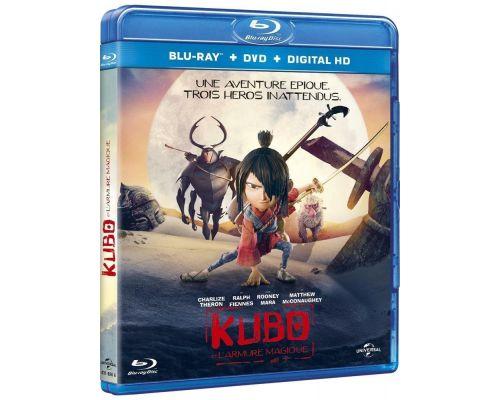 Un Blu Ray Kubo et l'Armure Magique