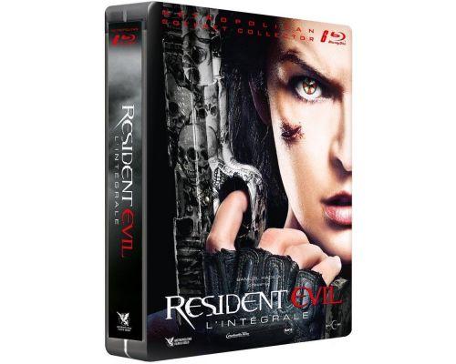 L'intégrale de Resident Evil en blu-ray