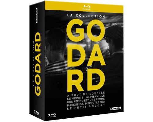 La collection Godard en Blu ray