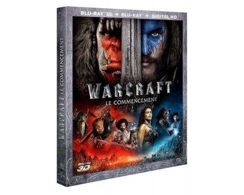 Un Blu Ray Warcraft : le commencement [Combo Blu-ray 3D + Blu-ray + Copie digitale]