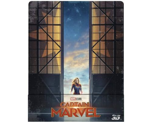 Un Blu-Ray Captain Marvel