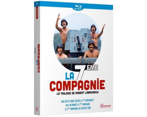 Un Blu-ray La 7eme compagnie  la trilogie