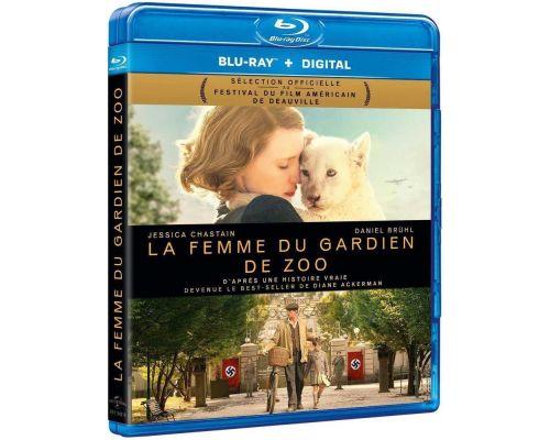 Un Blu-Ray La Femme du gardien de zoo