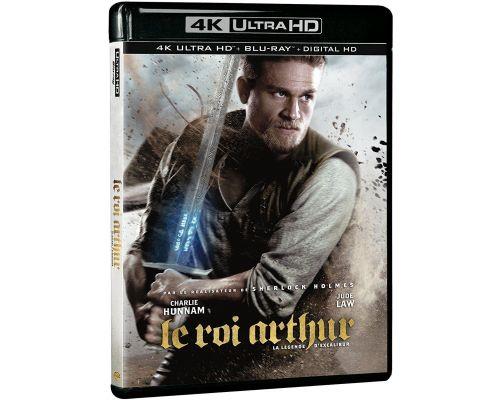 Blu-Ray LE ROI ARTHUR : LA LEGENDE D'EXCALIBUR EDITION STEELBOOK LIMITEE