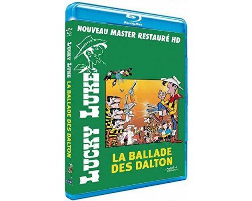Un Blu-Ray Lucky Luke - La ballade des Dalton