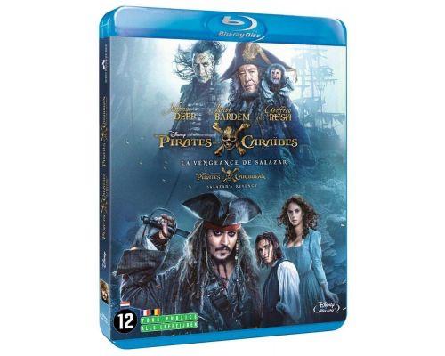 Un Blu-ray Pirates des Caraïbes : La Vengeance de Salazar