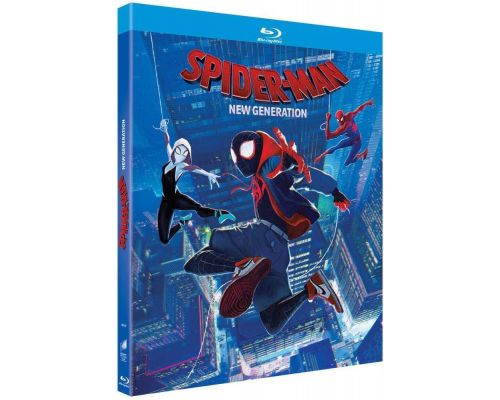 Un BluRay SpiderMan : New Generation