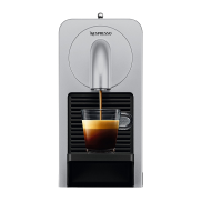 Une Cafetière Prodigio argent Nespresso Delonghi