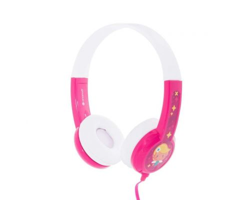 Un Casque audio Enfant Buddyphone Rose