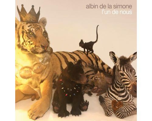 Un CD Albin de la Simone - L'un de Nous