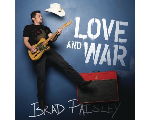 Un CD Brad Paisley Love and War
