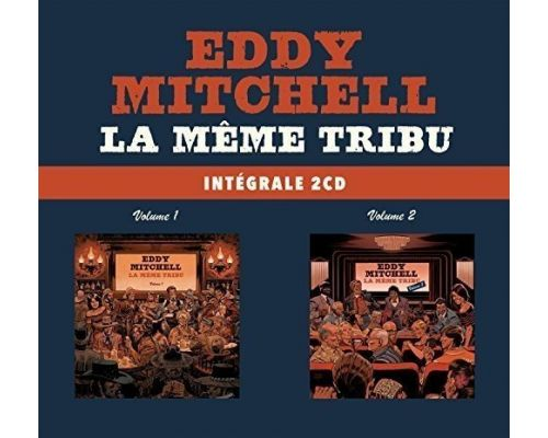 Un Coffret CD La Même Tribu d Eddy MITCHELL