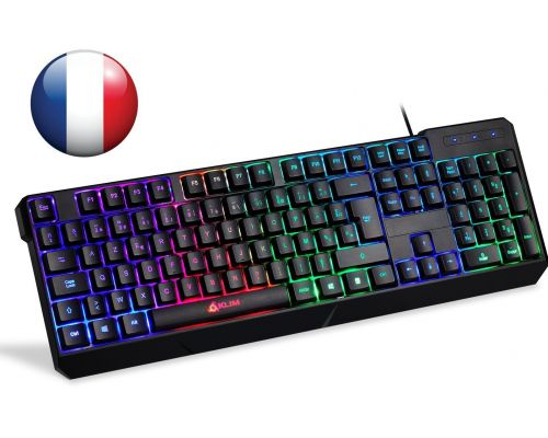 Un Clavier Gamer AZERTY Filaire USB Chroma
