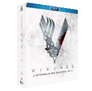 Un Coffret Blu Ray de la série Vikings saison 1 et 2