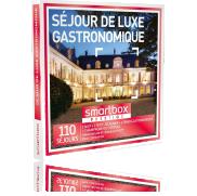 Un Coffret Cadeau SÉJOUR GOURMET DE LUXE SmartBox