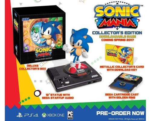Un coffret Sonic Mania : Edition Collector