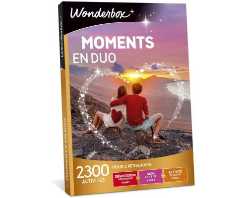 Un Coffret Wonderbox MOMENTS EN DUO