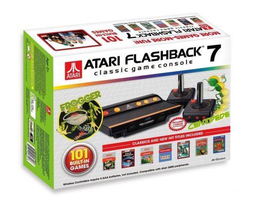 Une Console Atari Flashback 7 + 101 Jeux intégrés