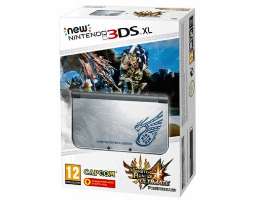 Une Console New Nintendo 3DS XL Monster Hunter 4 Ultimate