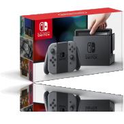 Une Console Nintendo Switch paire de Joy-Con gris